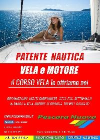 Patente Nautica vela e motore pescara